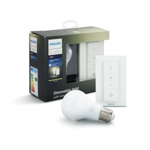 White - Wireless dimming kit E27